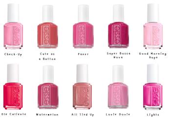 Best of: Essie Pink Polish